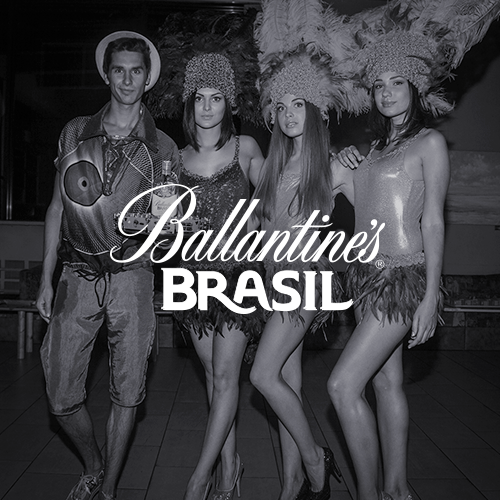 Ballantine's Brasil promo team