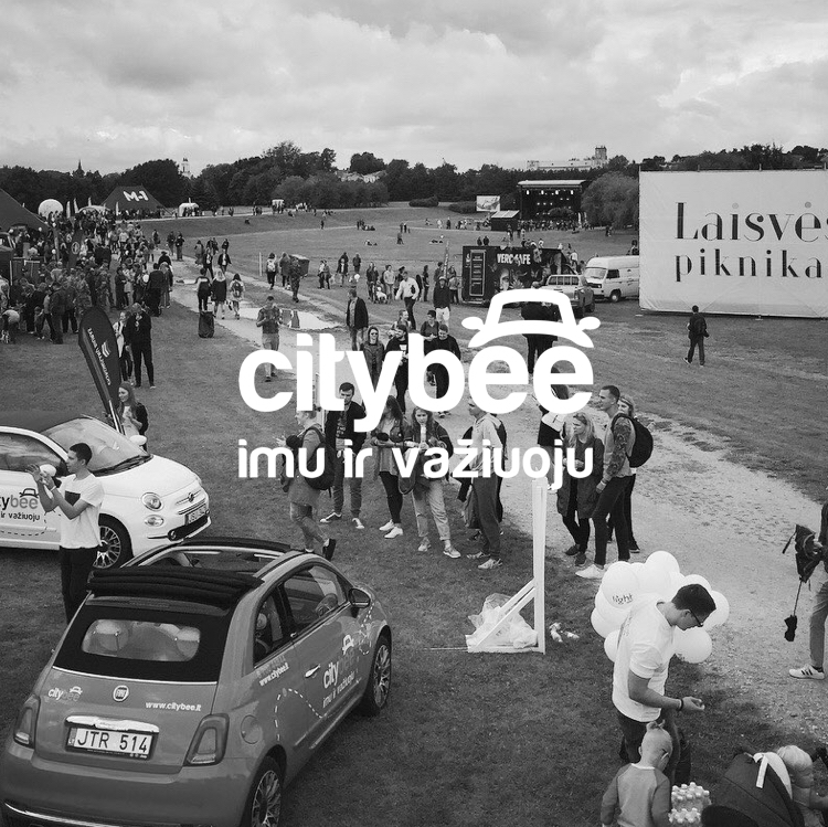 City Bee @Laisvės piknikas