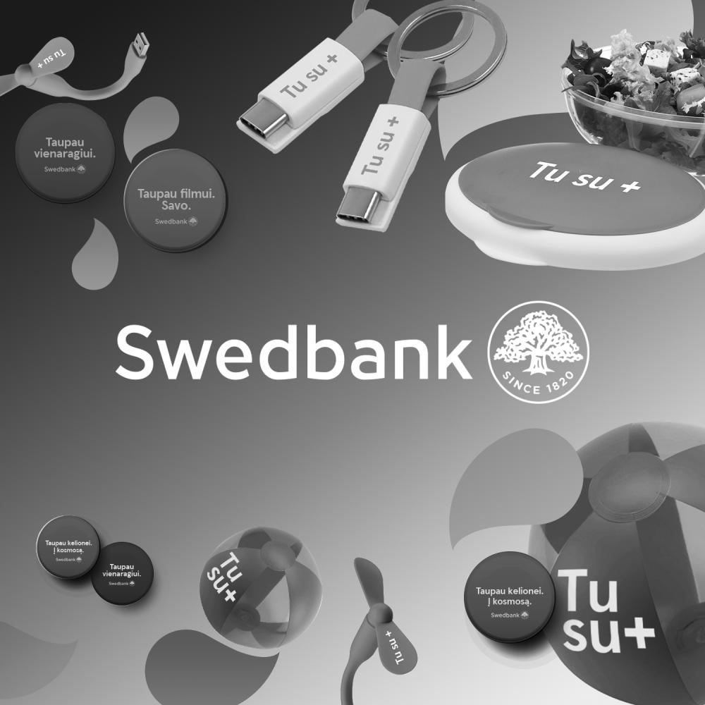 """Swedbank """"Bankometras"""" gifts"""